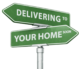 Residential delivery street sign