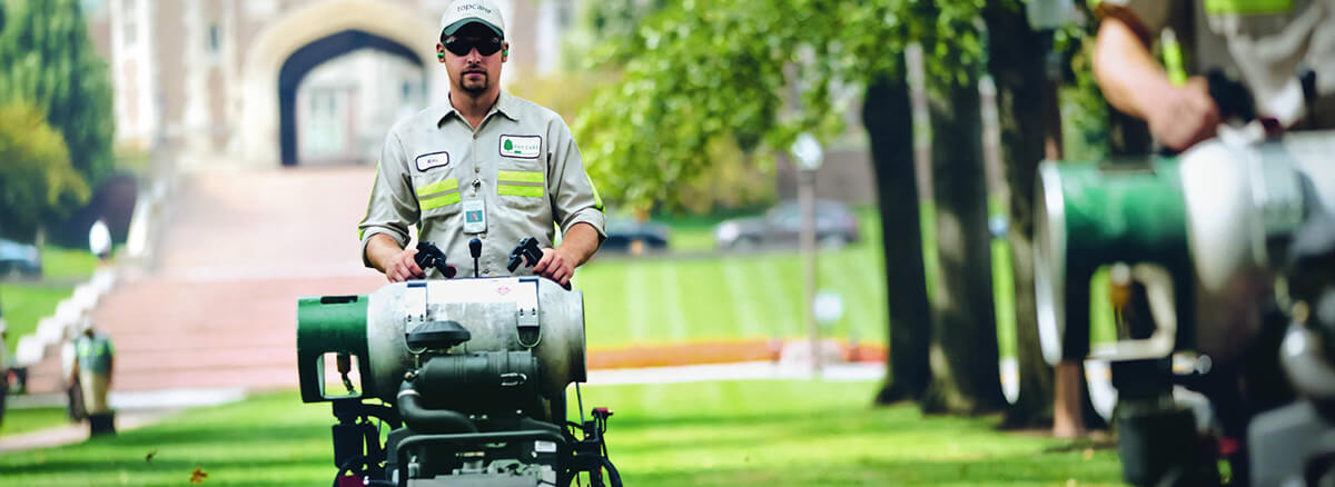 Commercial Propane for landscapers. Onsite delivery.