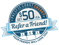 Pacific Coast Energy Referral Program Logo